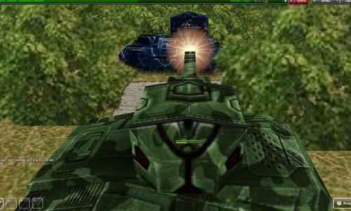 Учимся стрелять: ситуация, когда вражеский танк находится под вами